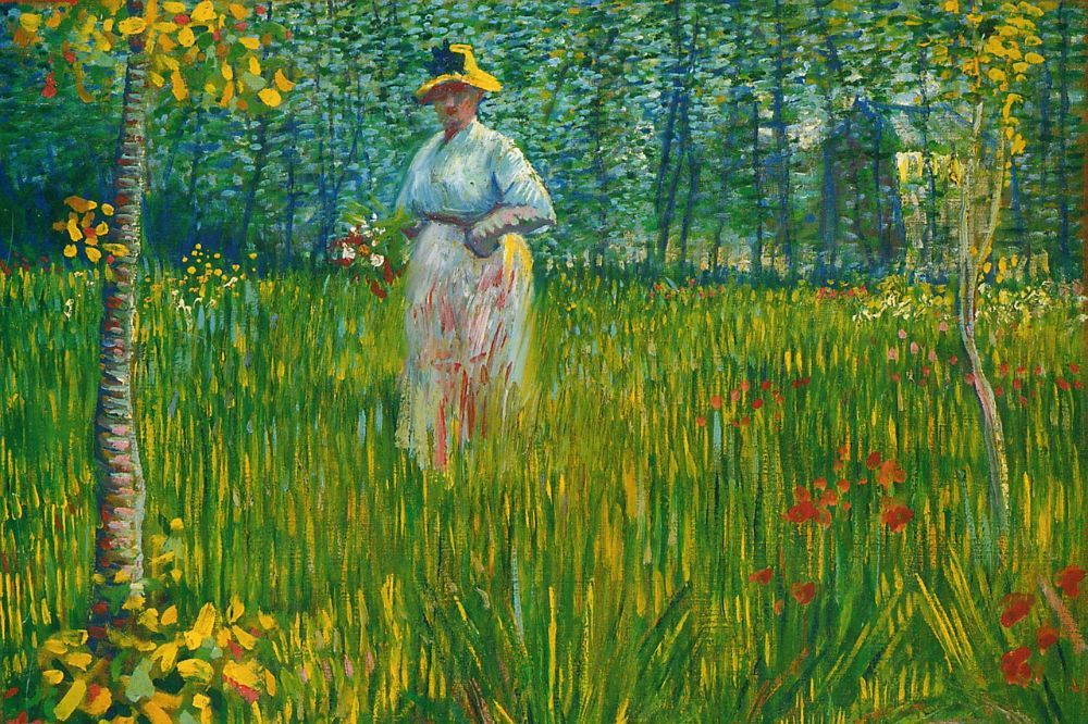 Vincent Van Gogh kort door de boch